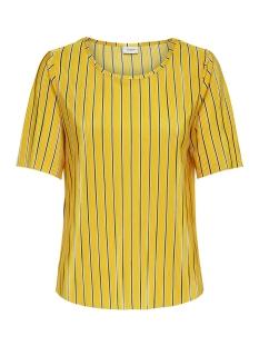 Jacqueline de Yong T-shirt JDYNOEL S/S TOP JRS 15174791 Lemon/STRIPE3