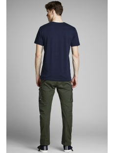 jorwavy tee ss crew neck 12152663 jack & jones t-shirt total eclipse/reg