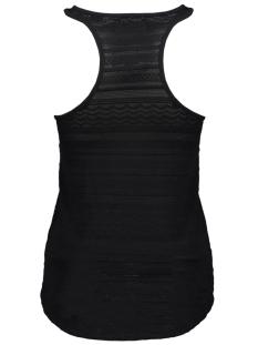 leya textured vest g60802su superdry top jet black
