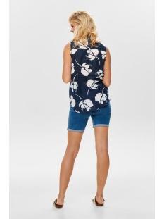 jdyloop s/l top wvn 15175975 jacqueline de yong blouse navy blazer/cloud danc