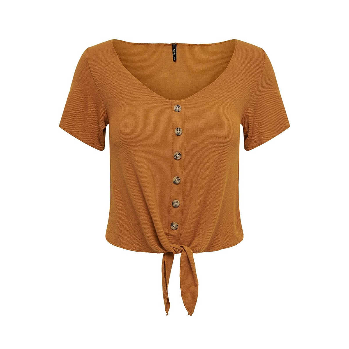 onlminka s/s knot top jrs 15179392 only t-shirt sugar almond