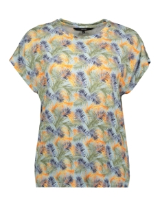 Vero Moda T-shirt VMAVA CHARLEE SS TOP GA JRS LCS 10221118 Cool Blue/CHARLEE