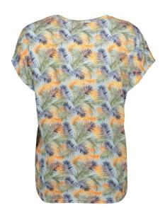 vmava charlee ss top ga jrs lcs 10221118 vero moda t-shirt cool blue/charlee