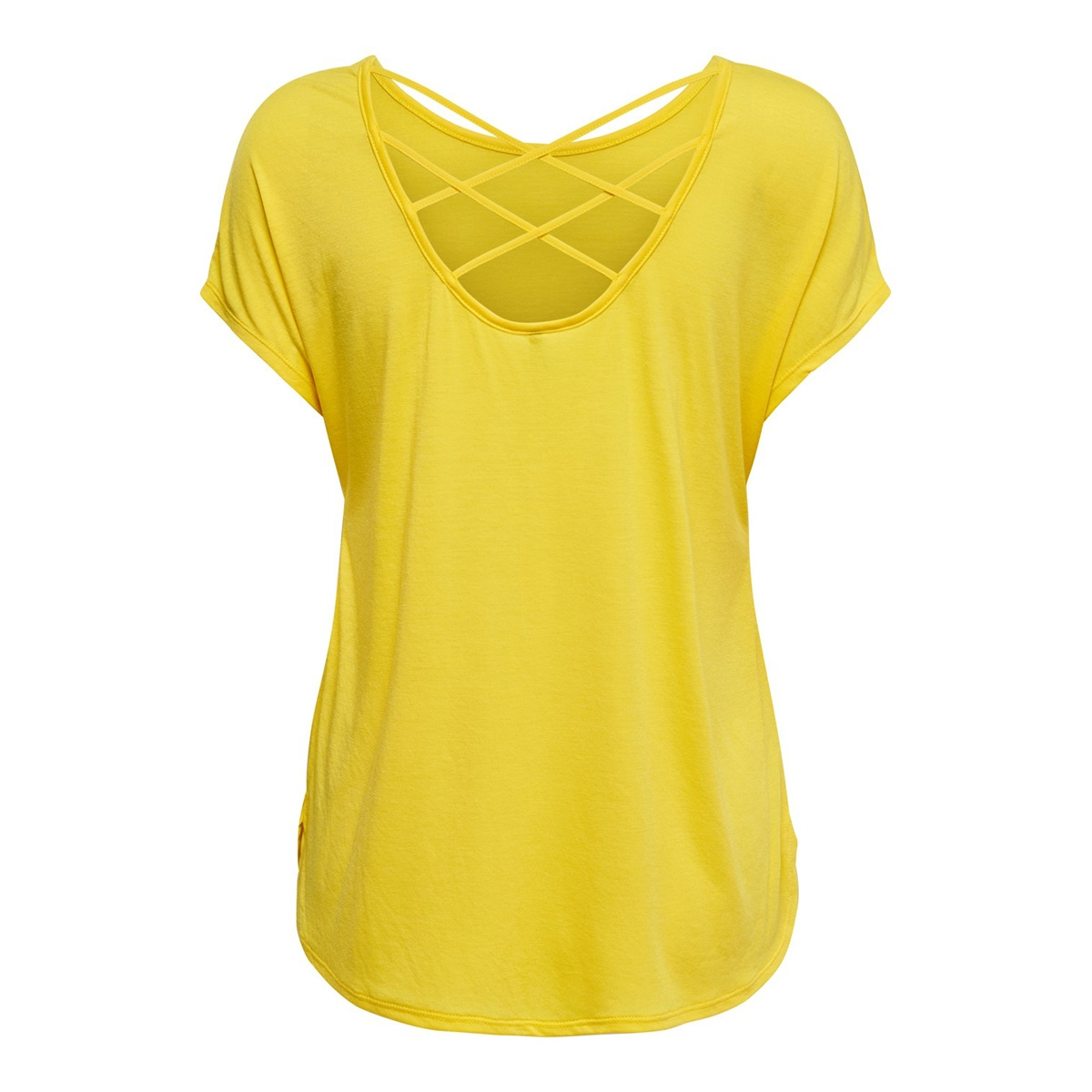onlmimi s/s top jrs 15179405 only t-shirt habanero gold
