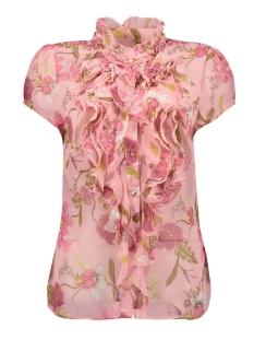 woven top s/s t1065 saint tropez blouse 7351