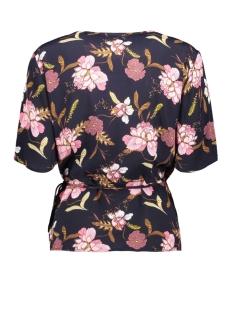 t1142 woven top ss sleeve saint tropez t-shirt 9069