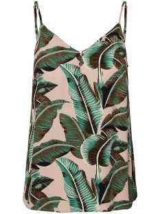 Pieces Top PCNADINE SLIP TOP 17098130 Lotus/PALMS