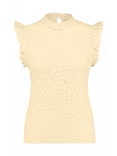 Aaiko Top FLORIA LACE CO 520 CREME