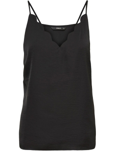 Only Top ONLDEBBIE SINGLET NOOS WVN 15176550 Black
