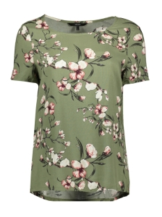 Vero Moda T-shirt VMSIMPLY EASY SS TOP 10211480 Oil Green/LAURA - OIL
