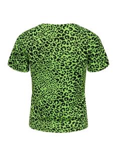 onlnete s/s o-neck top cs jrs 15194034 only t-shirt neon yellow/leo