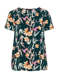 Vero Moda T-shirt VMSIMPLY EASY SS TOP 10211480 Ponderosa Pine/MAGNOLIA