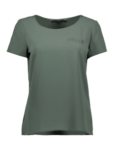 vmsasha ss top w. pocket a color 10195725 vero moda t-shirt laurel wreath