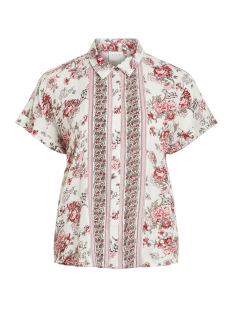 Vila Blouse VITROPAZ  TOP 14054711 Cloud Dancer/FLOWERS
