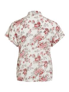 vitropaz  top 14054711 vila blouse cloud dancer/flowers