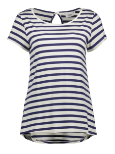 Saint Tropez T-shirt JERSEY TOP S S T1650 9242 RIBBON