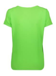 vmsasha ss top w. pocket a color 10195725 vero moda t-shirt green gecko
