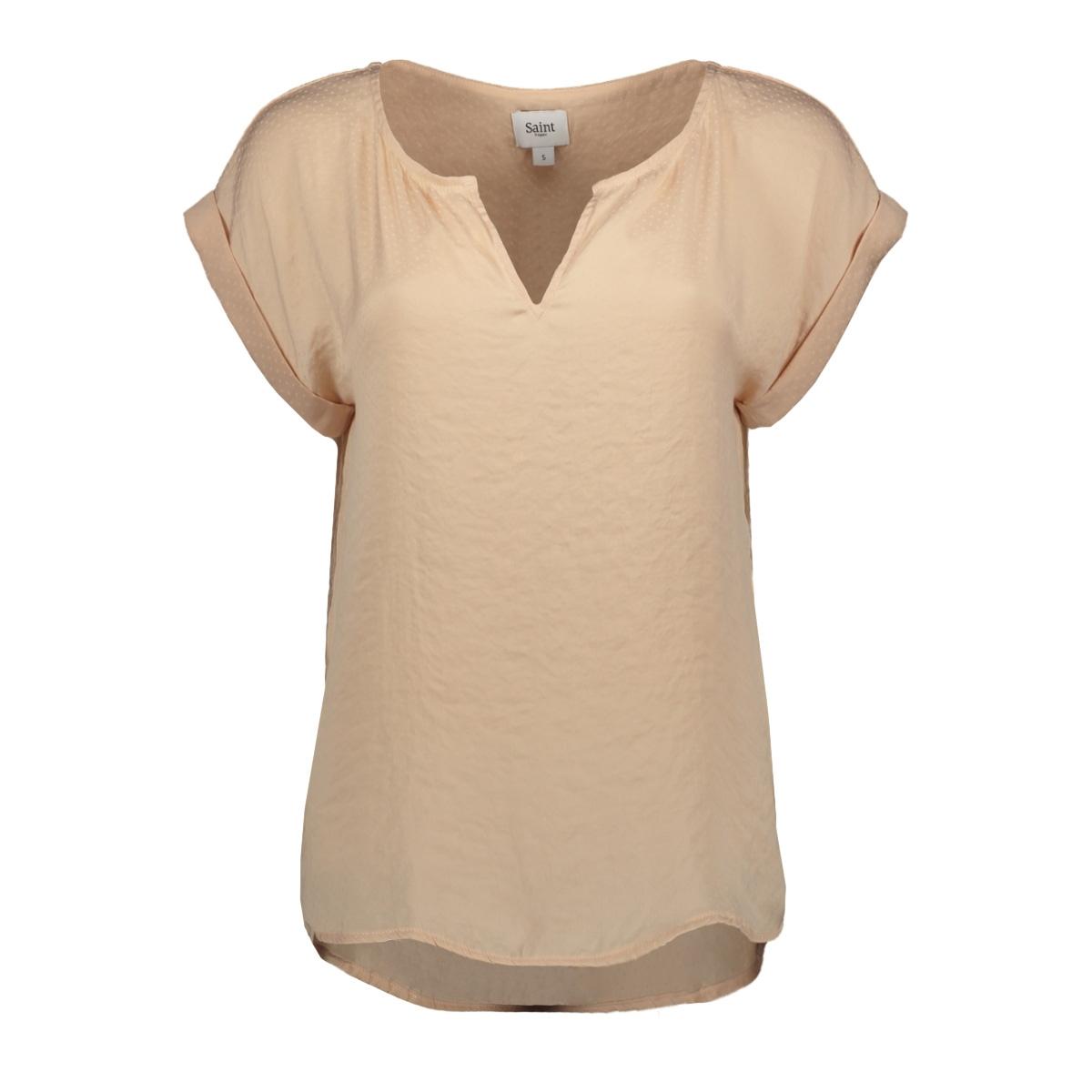 top with fabric dots p1326 saint tropez t-shirt 3212 rose