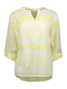 Saint Tropez Blouse WOVEN TOP LS T1107 2120 YELLOW