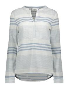 woven top ls t1107 saint tropez blouse 9335 blue