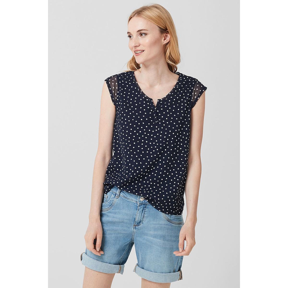 t shirt met v hals 05906346331 s.oliver t-shirt 59b3