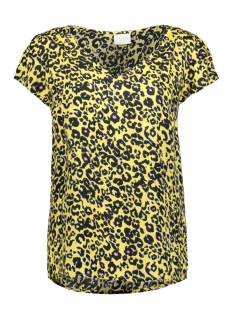 Vila T-shirt VIMITZY CHOISA  S/S  TOP/L 14055323 Goldfinch/CHOISA