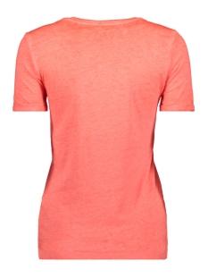 onlnessa s/s v-neck reg top cs jrs 15194055 only t-shirt neon pink