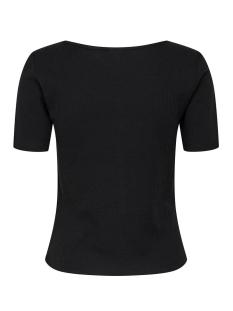 jdynevada treats s/s button top jrs 15179979 jacqueline de yong t-shirt black