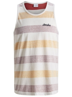 Jack & Jones T-shirt JORSIDER TANK TOP 12155565 Brick Red/REG