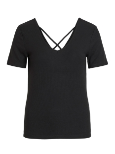 Vila T-shirt VIALBIE T-SHIRT 14055457 Black