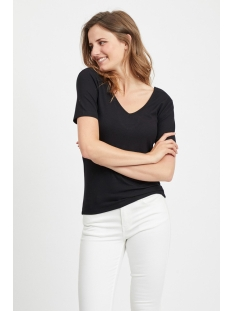 vialbie t-shirt 14055457 vila t-shirt black