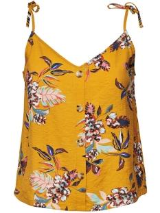 ONLLEAH SL TOP WVN 15179659 Golden Yellow/LA FLOWER