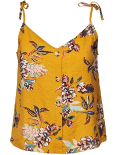 Only Top ONLLEAH SL TOP WVN 15179659 Golden Yellow/LA FLOWER