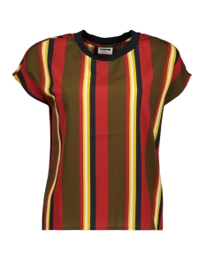 Noisy may T-shirt NMGAIA SS TOP 4 27008652 Kalamata/ Mix Stripe