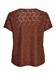jdytag s/s lace top jrs rpt2 noos 15152331 jacqueline de yong t-shirt smoked paprika
