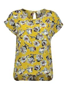 jdywin treats s/s o-neck top wvn 15176859 jacqueline de yong t-shirt cress green/big flower