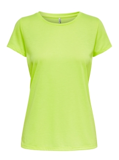 Only T-shirt ONLNADIALINE S/S FITTED TEE CS JRS 15194054 Neon Yellow