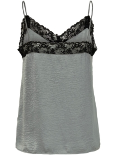 jdylolly lace singlet wvn 15180464 jacqueline de yong top sharkskin/black lace