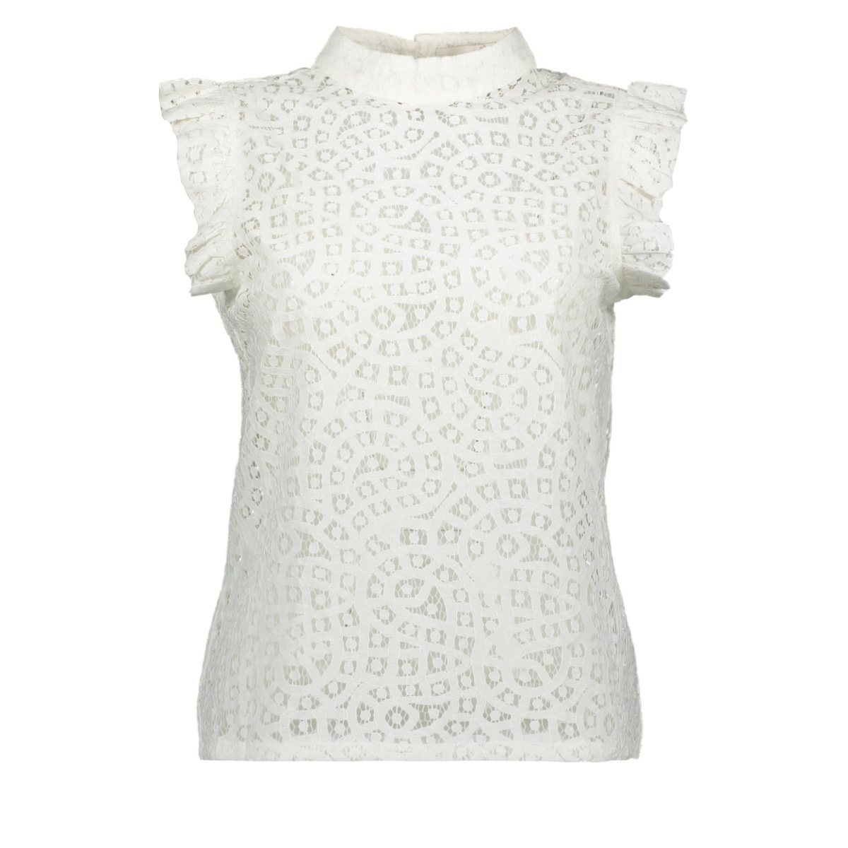 floria lace co 520 aaiko top crispy white