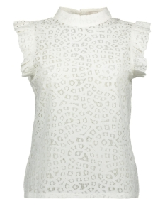 Aaiko Top FLORIA LACE CO 520 CRISPY WHITE