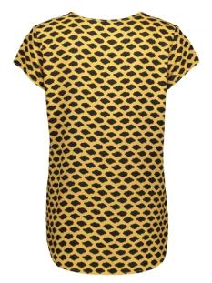 vmboca ss blouse multi aop 10132802 vero moda t-shirt amber gold/loa