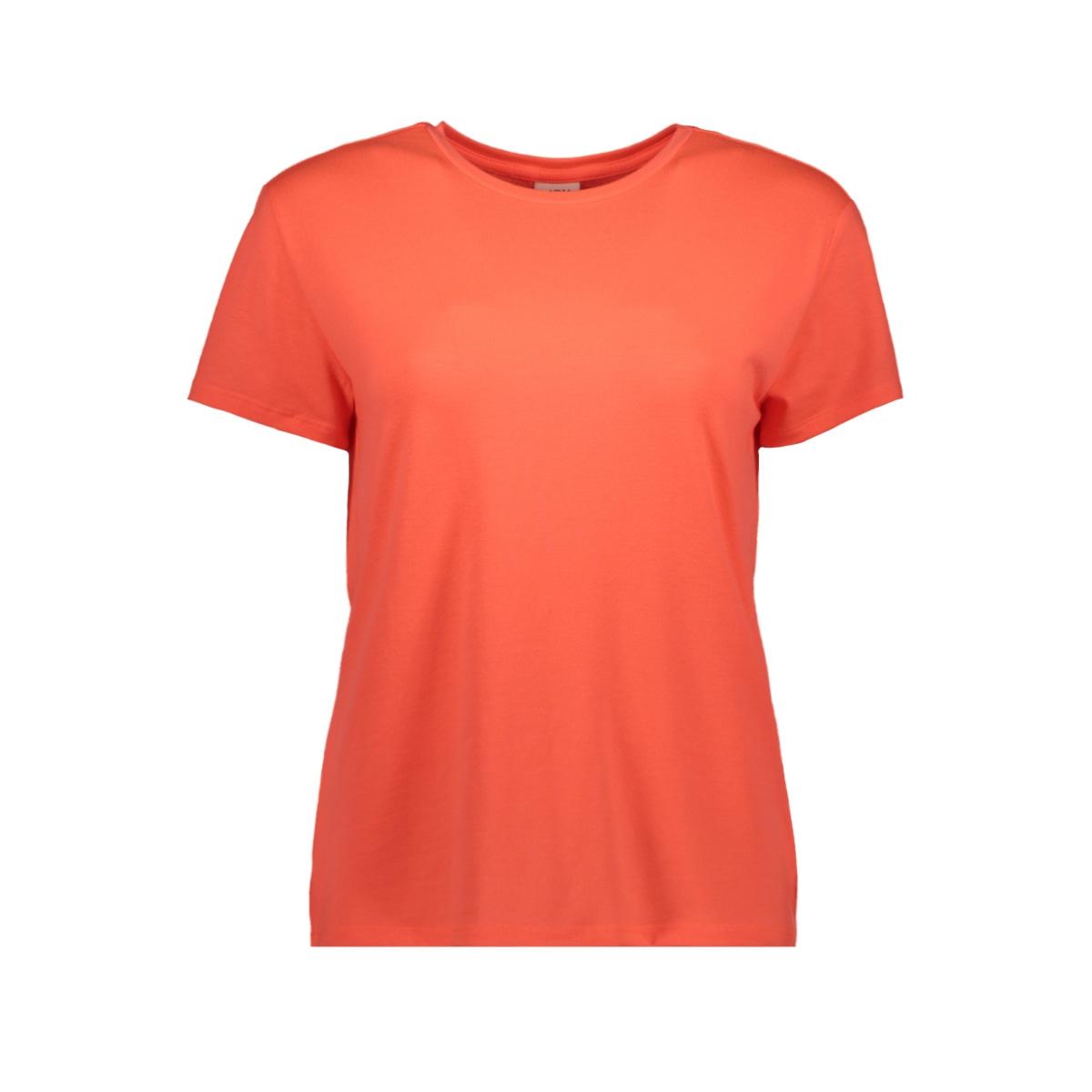 jdyniki s/s top jrs exp 15197546 jacqueline de yong t-shirt neon peach