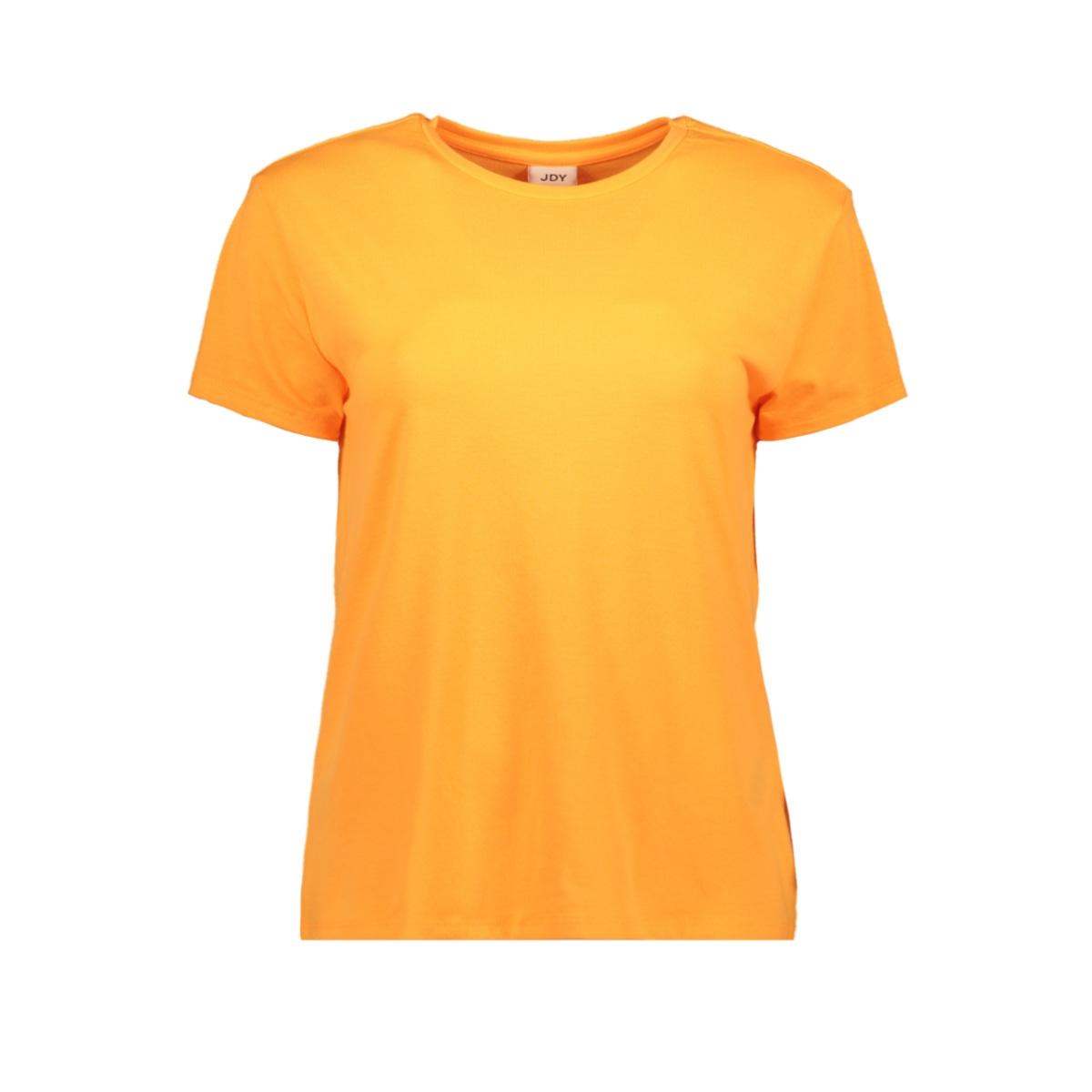 jdyniki s/s top jrs exp 15197546 jacqueline de yong t-shirt neon orange
