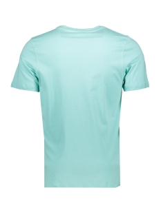 jorrival tee ss crew neck 12155596 jack & jones t-shirt aqua sky/slim