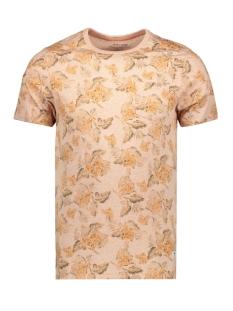 Jack & Jones T-shirt JPRJEREMY BLU. TEE SS CREW NECK 12156368 Café Crème/MELANGE