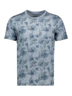 Jack & Jones T-shirt JPRJEREMY BLU. TEE SS CREW NECK 12156368 Faded Denim/MELANGE