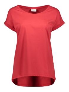 vidreamers pure t-shirt-fav 14043506 vila t-shirt racing red