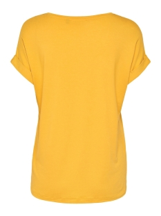 onlmoster s/s o-neck top noos jrs 15106662 only t-shirt golden yellow