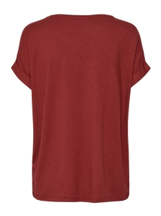 onlmoster s/s o-neck top noos jrs 15106662 only t-shirt merlot