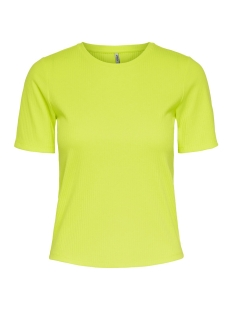 Only T-shirt ONLAIJA S/S TOP JRS 15195855 Neon Yellow